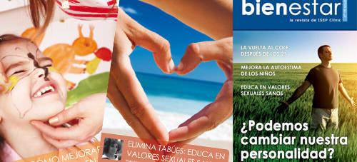 nuevo número de la revista Bienestar de ISEP Clínic