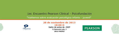 Encuentro Pearson Clinical-Psicofundación