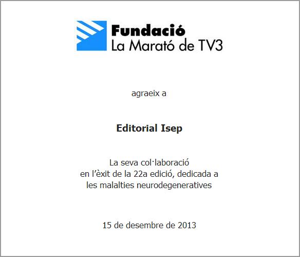 Diploma de La Marató