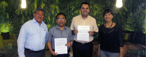 firma convenio con sociedad peruana de evaluación psicológica