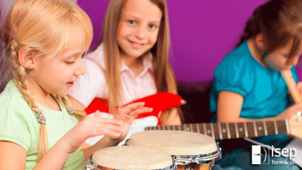 Musicoterapia para niños y niñas