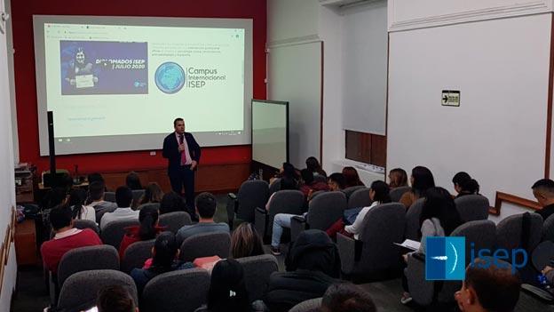 Fortaleciendo relaciones institucionales con Colombia