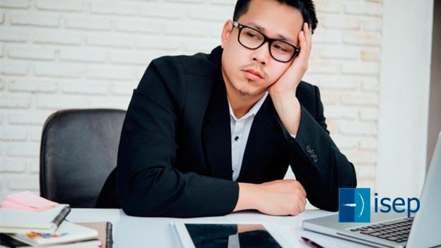 Estrés laboral crónico, desencadenante del burnout